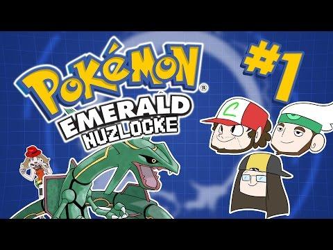 Pokemon Emerald NUZLOCKE Part 1 | TFS Plays