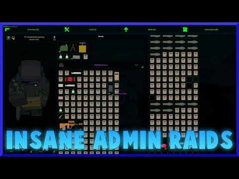 OVER 1000 CHARGES ADMIN CLAN RAID - ft.Jswag - Unturned Game