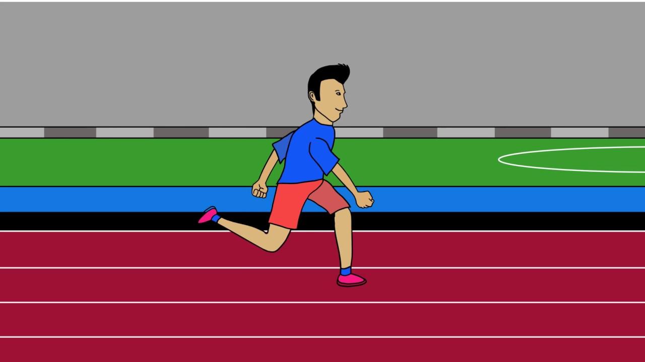 Download 54 Gambar Animasi Orang Lari HD Free - Gambar Animasi