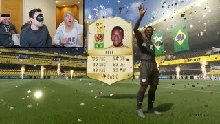 FIFA 17 - PELE IN A PACK PRANK!!!