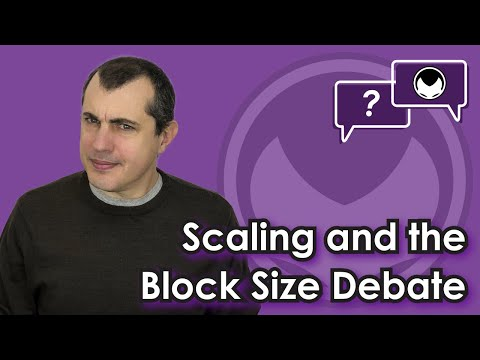 Bitcoin Q&A: Scaling and the block size debate