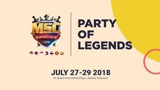 🔴 FINALS DAY Mobile Legends Southeast Asia Cup 2018   Shinmen Takezo Live   Mobile Legends