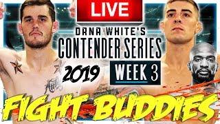 🔴 Dwcs 2019 Week 3 Wallace Vs Solecki  Trocoli Vs Bergh Live Fight Reaction
