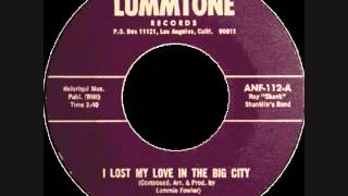 I Lost My Love In The Big City  -  The Elgins