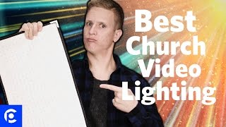 Church Lighting - The Only Light You'll Ever Need For Creating Church Videos