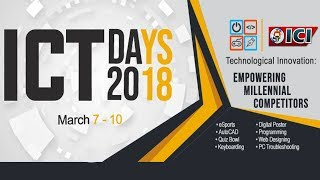Iligan Computer Institute {ICT DAYS 2018}