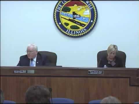 Will County Board Meeting - November 2011