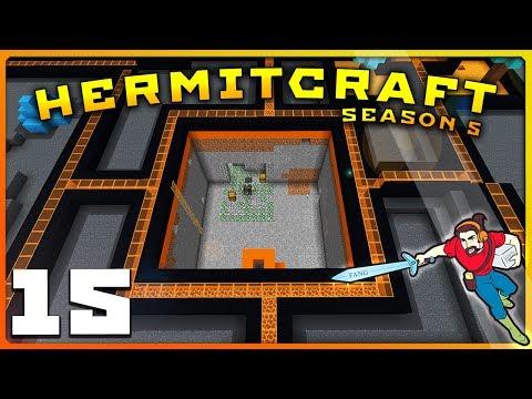 HermitCraft 5 | Ep 15 | VON BUTTS INDUSTRIAL PARK! | Minecraft Vanilla 1.12