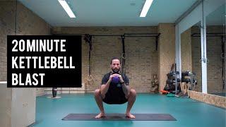 20 Minute Kettlebell Blast