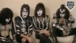 KISS Creatures of the Night Interview with Ace [RARE 1982]