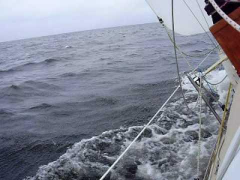 Windward Pamlico Sound Oct 17 2008 Youtube
