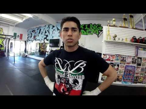 Brandon Cruz Jr  Brings Philadelphia Boxing Style to California