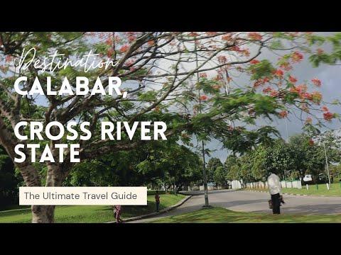 A DRIVE THROUGH THE CITY OF  CALABAR, CROSS RIVER. NIGERIA