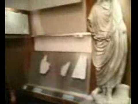 Paestum italy, greek museum. Museo di Paestum
