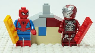Lego Iron Man Brick Building Party Holiday House For Kids
