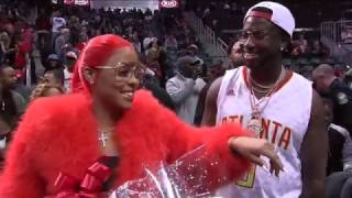 Gucci Mane Proposes During Kiss Cam in Atlanta | 11.22.16
