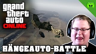 GTA ONLINE # 50 - Hängeauto-Battle «» Let