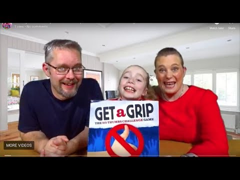 Wacky Wednesday 122- Get a Grip, The No Thumbs Challenge