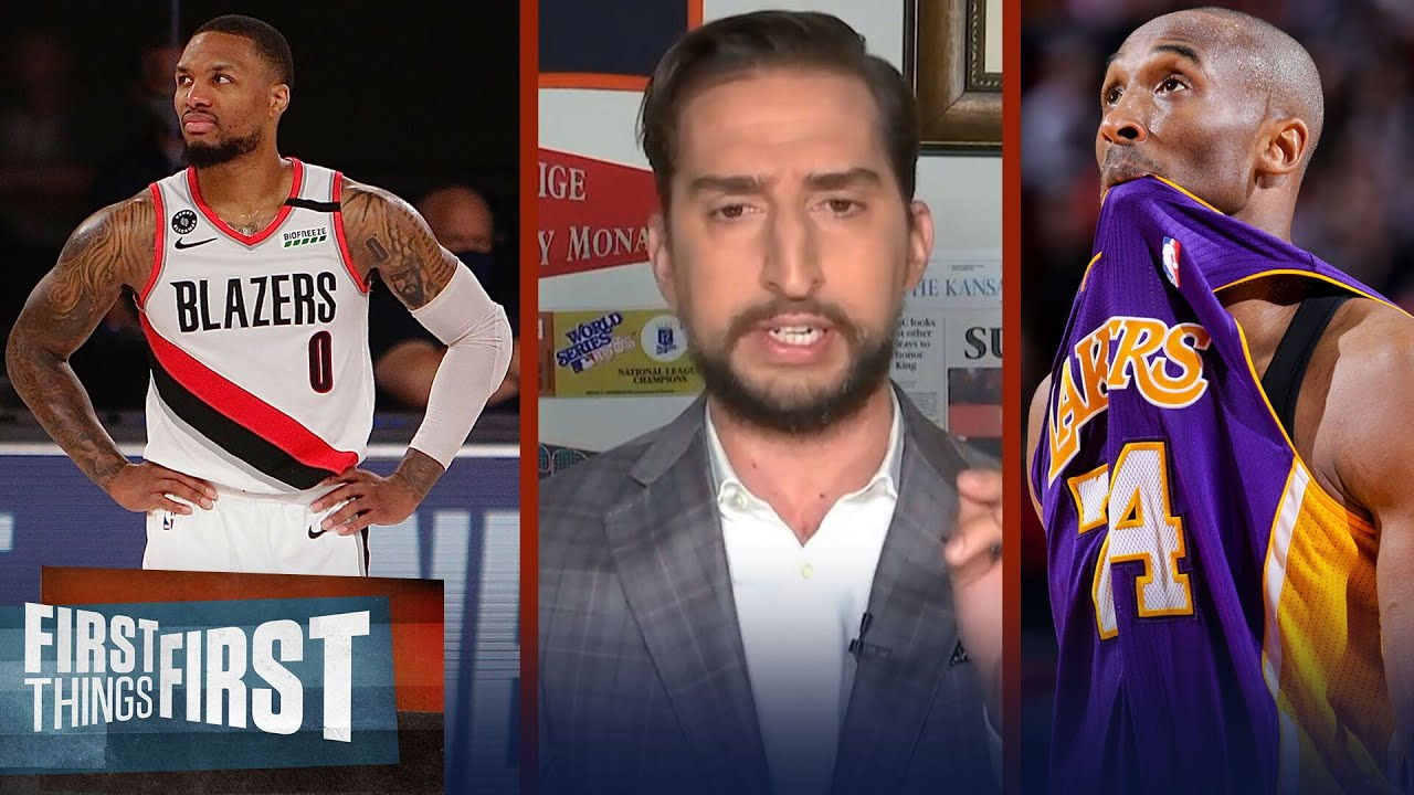 Lillard was Mamba-esque in last 3 games to keep Blazers alive — Nick | NBA | FIRST THINGS FIRST