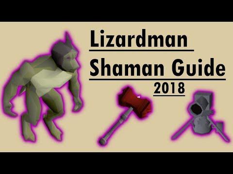 [OSRS] Lizardman Shaman Guide (2018)