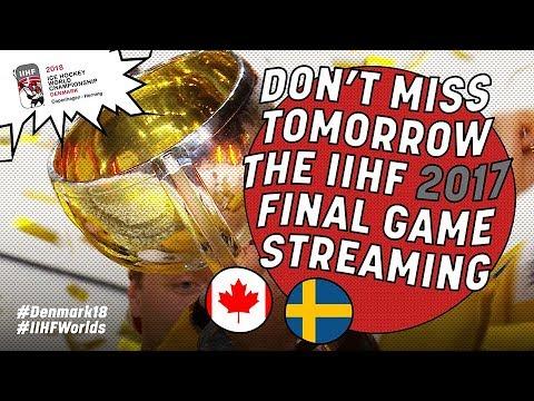 Historic #IIHFWorlds Finals 2017 Teaser - #IIHFWorlds 2018 - 동영상