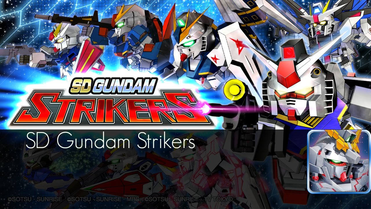 Sd Gundam Strikers Opening Theme Bgm Android Ios Youtube