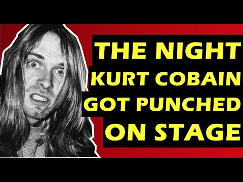 Nirvana: The Time Kurt Cobain Got Attacked On Stage