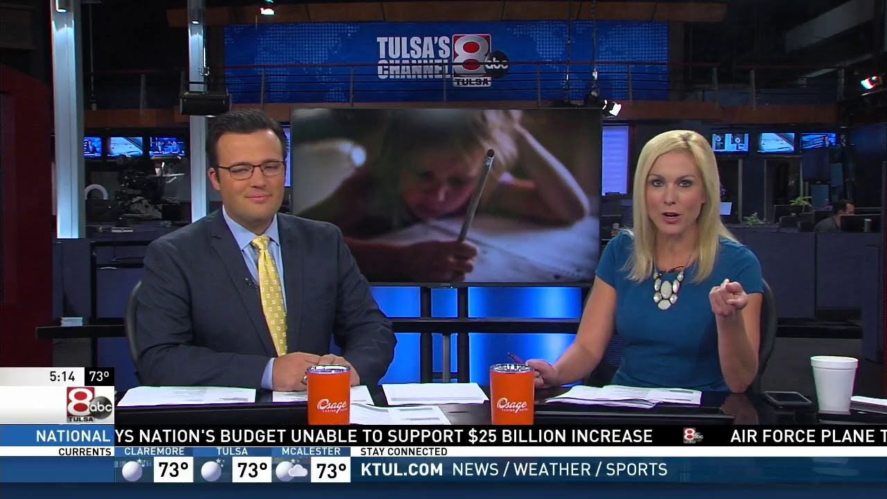 KTUL Ch  8's Good Morning Oklahoma Features After-school Homework Clubs