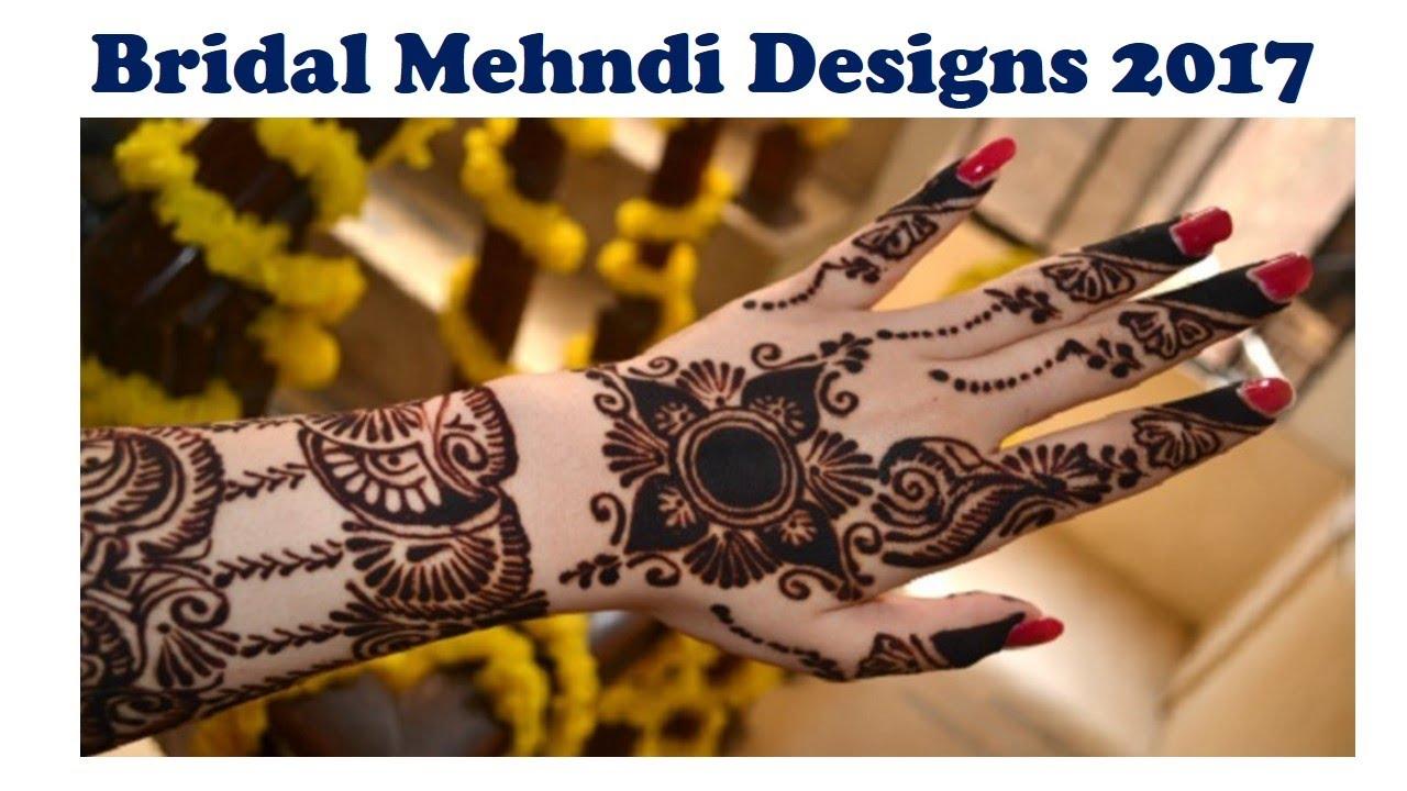 Mehndi designs 2017 new style - Bridal Mehndi Designs 2017 New Style Latest Fashion Mehndi Design Dhulan Mehndi Designs