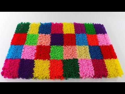 🎸নাইস পাপোশ আইডিয়া 🍀 Make Amazing Doormat at Home 👓 Diy Paposh Design 💗