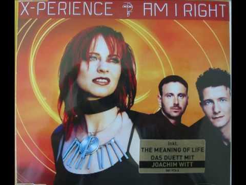 X-Perience - Am I Right (Radio Club Mix, 2001)