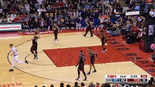 2nd Quarter, One Box Video: Toronto Raptors vs. New York Knicks