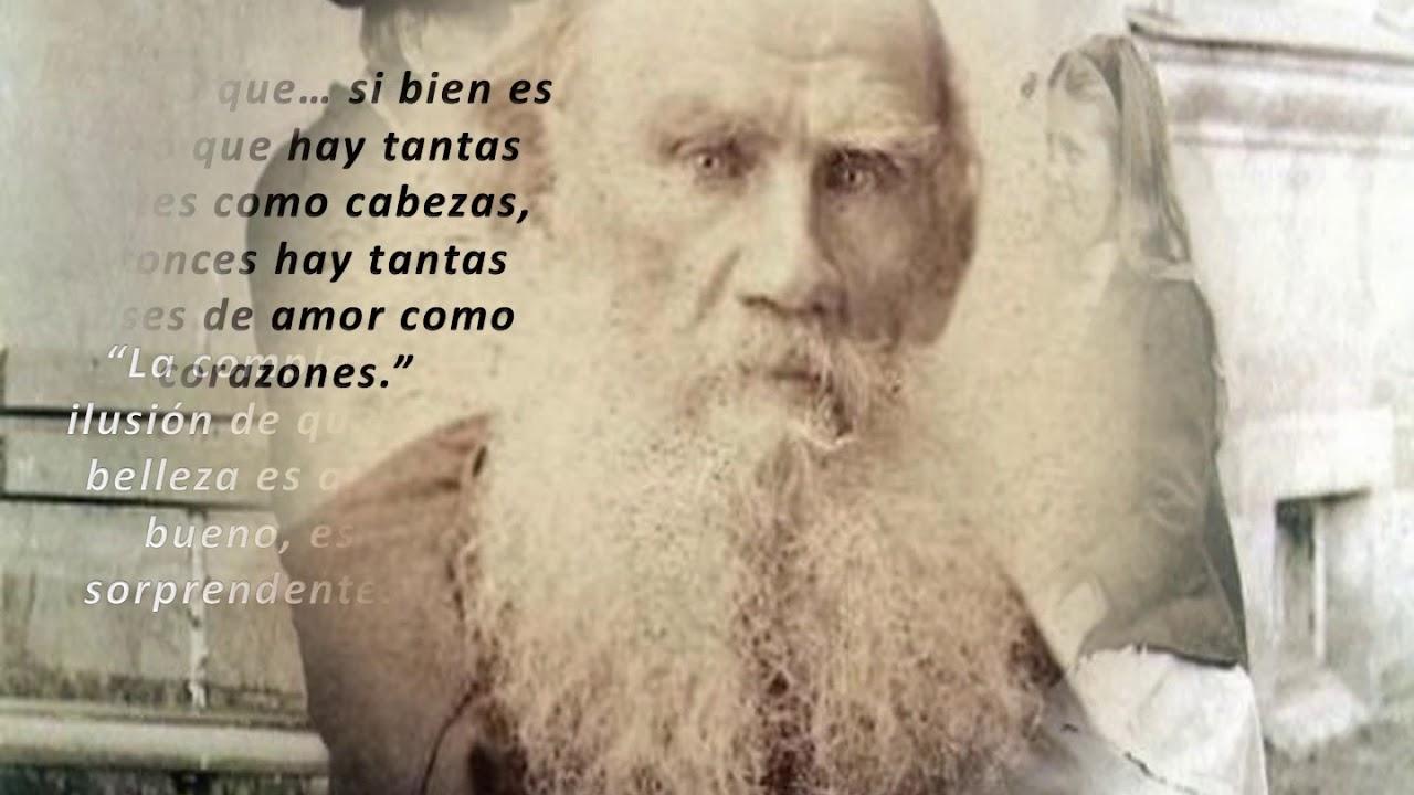 Grandes Frases De León Tolstói