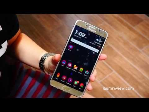 HD รีวิว Samsung Galaxy Note 5 : จัดเต็ม EP1 : เรียนและทำงานด้วย Note 5