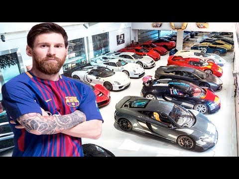 Lionel Messi's Luxurious Lifestyle 2017- Net Worth, Income, Private Jet, Cars, House & Family
