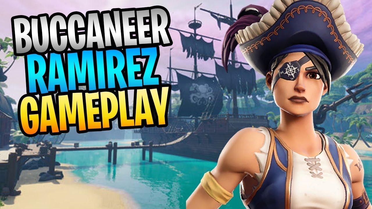 Fortnite Save The World Com Ramirez Fortnite New Buccaneer Ramirez Pirate Soldier Save The World Gameplay Youtube