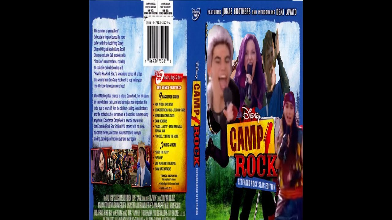 Mal and her friends in Camp Rock🎸