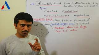 Metallic Bond and Properties of Metals |Types of Chemical Bonds|