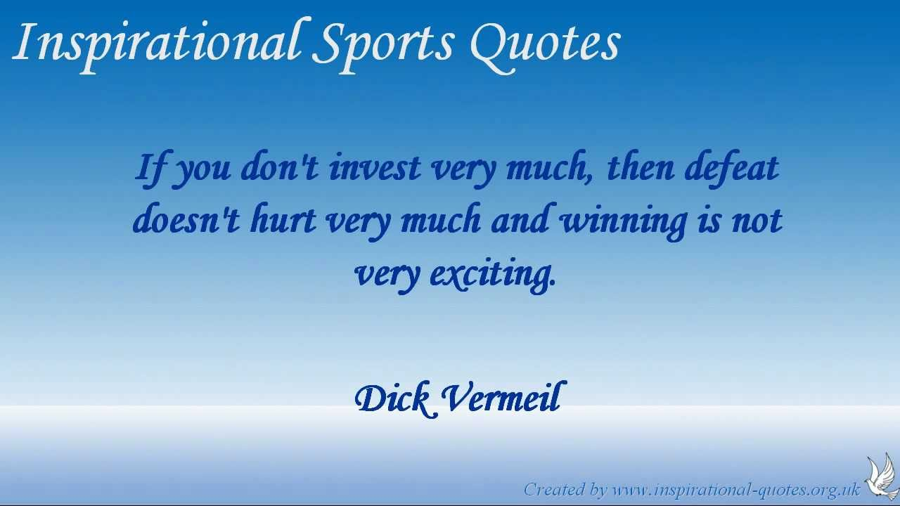 Inspirational Sports Quotes Inspirational Sports Quotes  Youtube