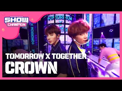 Show Champion EP TOMORROW X TOGETHER - CROWN