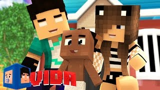 Minecraft Vida: ADOTAMOS UM BEBÊ !!! #40