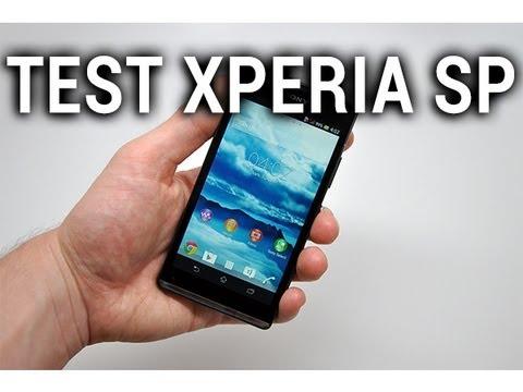 Test du Sony Xperia SP - par Test-Mobile.fr