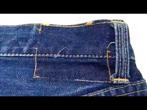 Vintage Big E Levis Jeans Red Line Selvedge Hidden Rivets
