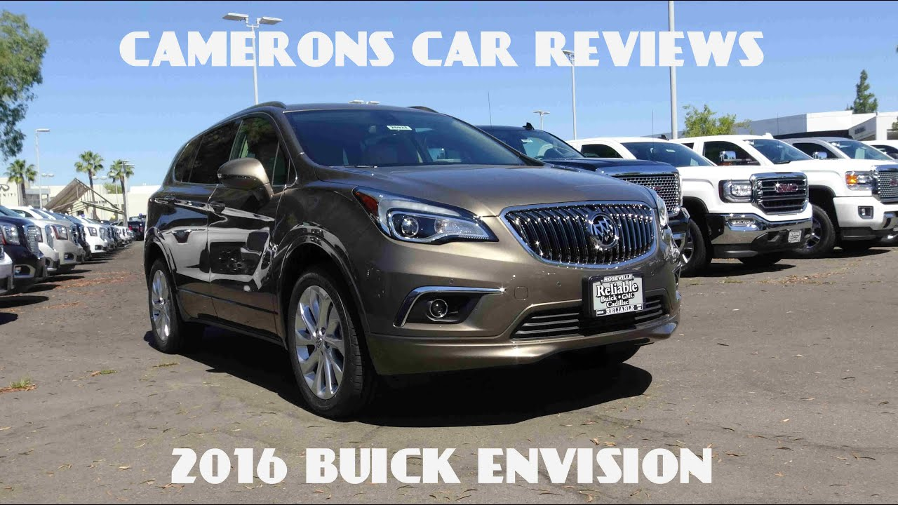 2016 Buick Envision Premium 2.0 L Turbo 4-Cylinder Review | Camerons Car Reviews