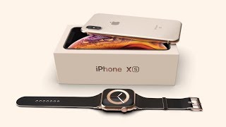iPhone XS and Apple Watch 4