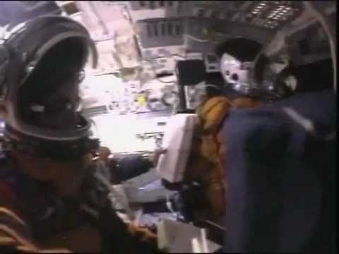 STS-107 Astronaut Crew Flight Deck Video During Space Shuttle Columbia's Failed Re-Entry