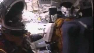 STS-107 Astronaut Crew Flight Deck Video During Space Shuttle Columbia