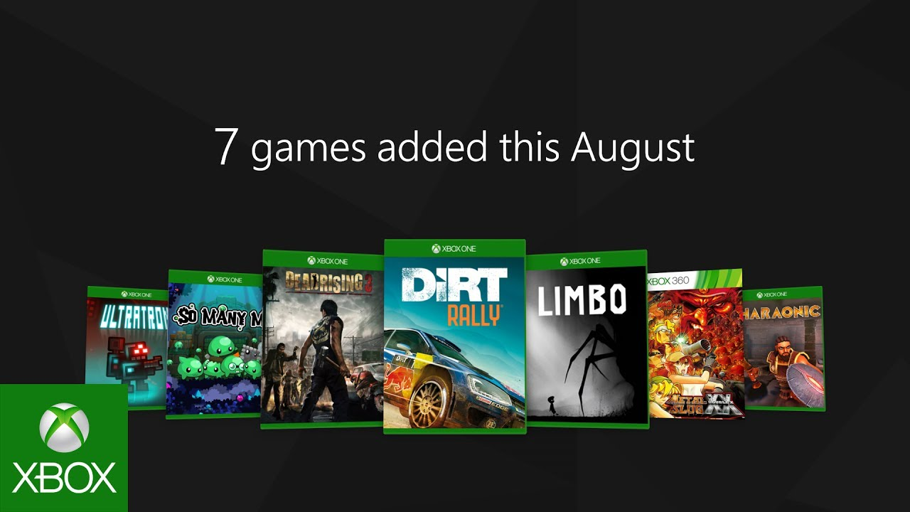 Xbox Game Pass - August 2017 Update