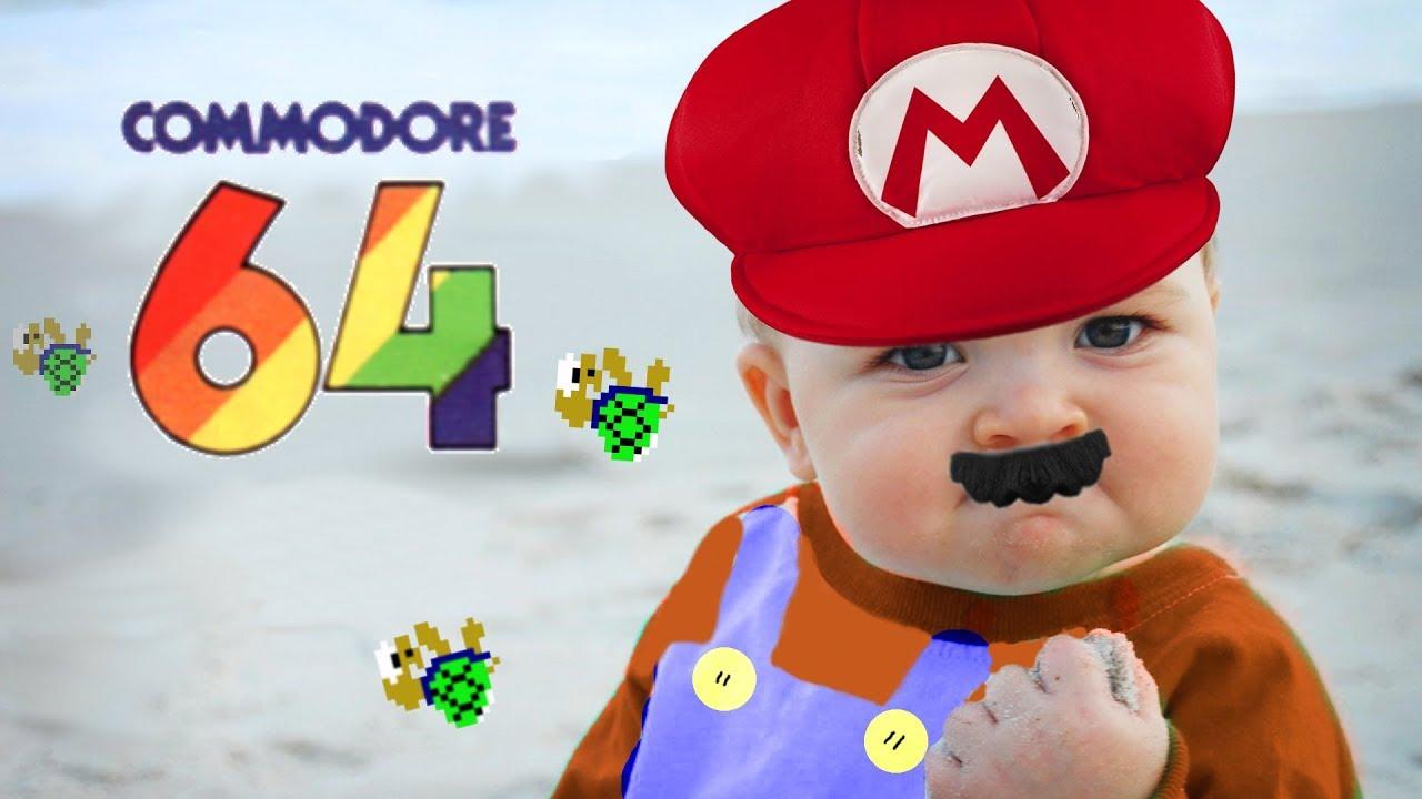 Port of Super Mario Bros to the C64! – 8-Bit Classics