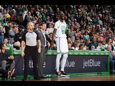 """Tacko Fall Receives """"Tacko"""" Chants And Standing Ovation From Celtics Fans"""